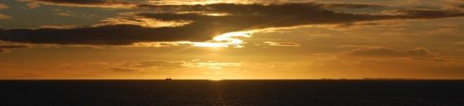 Solnedgang på Edøya.
